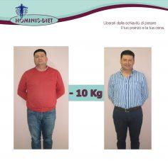 Raffaele,50 Anni, - 10 Kg