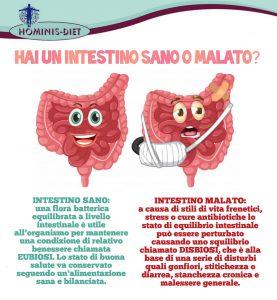 Intestino sano o malato?